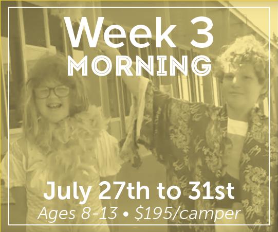Week 3: Morning Session